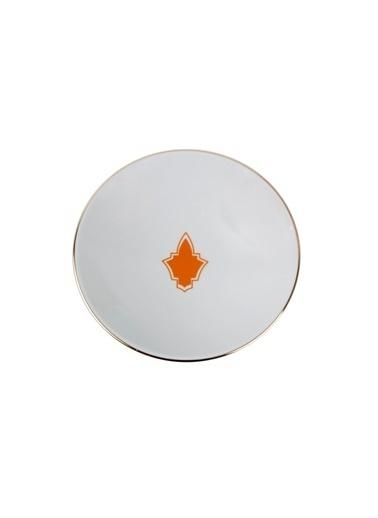 Porland Morocco Desen3 Turuncu Çukur Tabak 19cm Oranj
